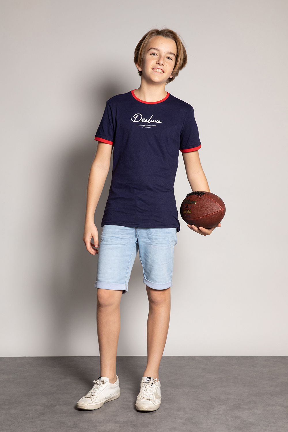 T-Shirt HYLTER - Couleur - Navy, Taille - 8