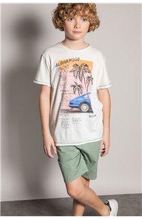 T-Shirt T-Shirt ALDO Garçon S20144B (51057) - DEELUXE
