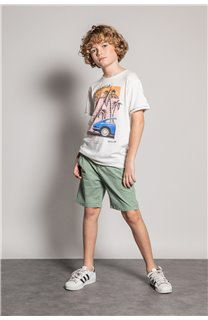 T-Shirt T-Shirt ALDO Garçon S20144B (51058) - DEELUXE