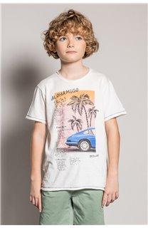 T-Shirt T-Shirt ALDO Garçon S20144B (51059) - DEELUXE