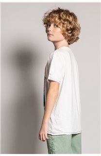 T-Shirt T-Shirt ALDO Garçon S20144B (51060) - DEELUXE