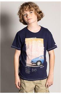 T-Shirt T-Shirt ALDO Garçon S20144B (51062) - DEELUXE