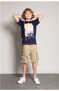 T-Shirt T-Shirt ALDO Garçon S20144B (51063) - DEELUXE
