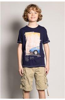 T-Shirt T-Shirt ALDO Garçon S20144B (51064) - DEELUXE