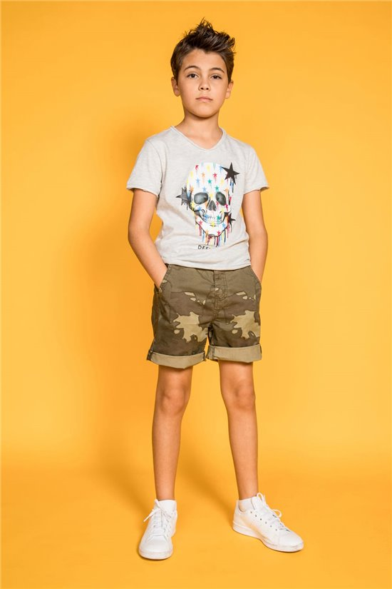 T-Shirt T-Shirt DRIPPY Garçon S20181B (51082) - DEELUXE