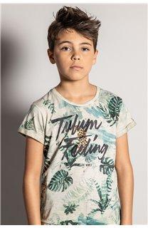 T-Shirt T-Shirt JOSHUA Garçon S20108B (51157) - DEELUXE