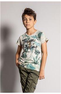 T-Shirt T-Shirt JOSHUA Garçon S20108B (51159) - DEELUXE
