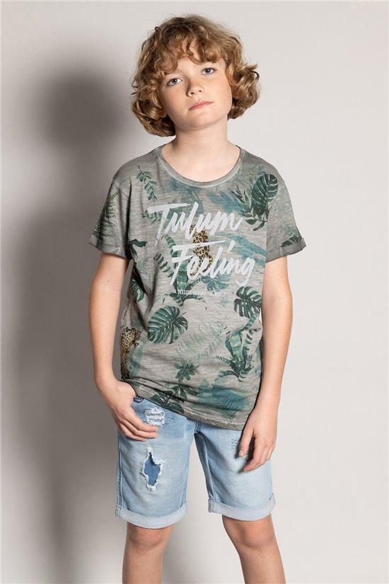 T-Shirt T-Shirt JOSHUA Garçon S20108B (51161) - DEELUXE