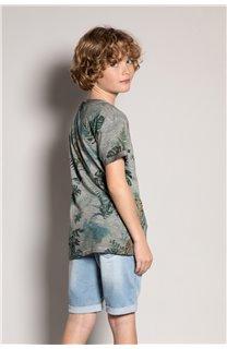 T-Shirt T-Shirt JOSHUA Garçon S20108B (51165) - DEELUXE