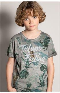 T-Shirt T-Shirt JOSHUA Garçon S20108B (51166) - DEELUXE
