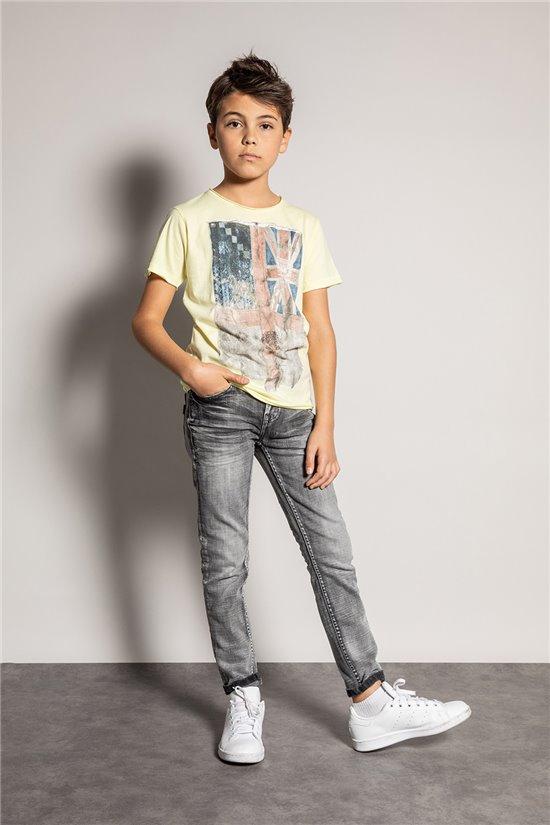 T-Shirt T-SHIRT FLAGY Garçon S20116B (51171) - DEELUXE