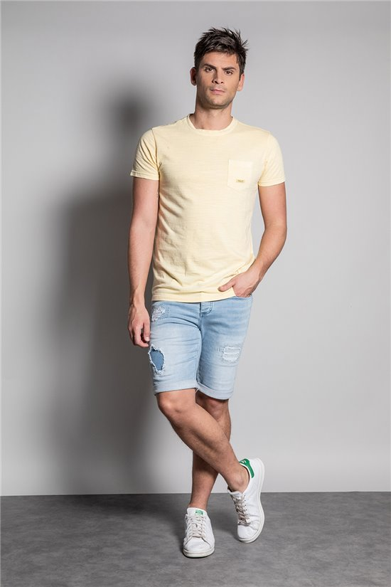 T-Shirt T-SHIRT MAITAI Homme S20177 (51272) - DEELUXE