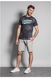 T-Shirt T-SHIRT STUNNING Homme S20139 (51367) - DEELUXE