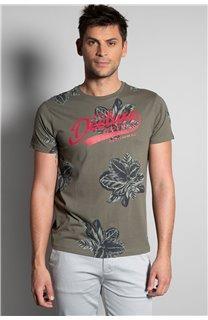 T-Shirt T-SHIRT STUNNING Homme S20139 (51371) - DEELUXE