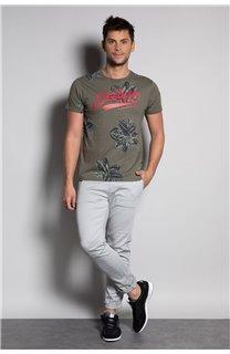 T-Shirt T-SHIRT STUNNING Homme S20139 (51372) - DEELUXE