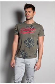 T-Shirt T-SHIRT STUNNING Homme S20139 (51373) - DEELUXE