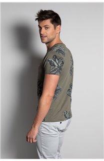 T-Shirt T-SHIRT STUNNING Homme S20139 (51374) - DEELUXE