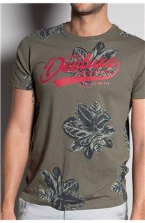 T-Shirt T-SHIRT STUNNING Homme S20139 (51375) - DEELUXE