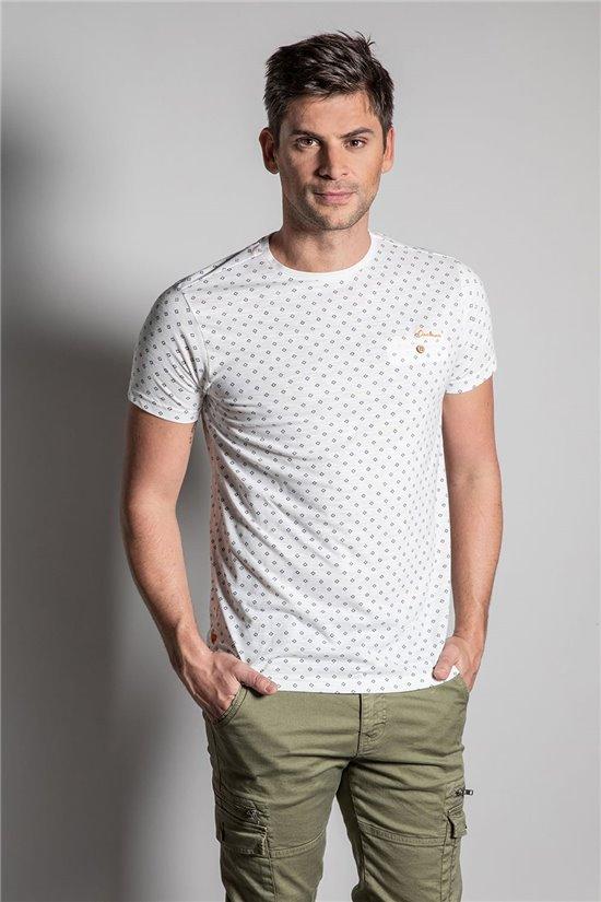 T-Shirt T-SHIRT PASEO Homme S20102 (51416) - DEELUXE