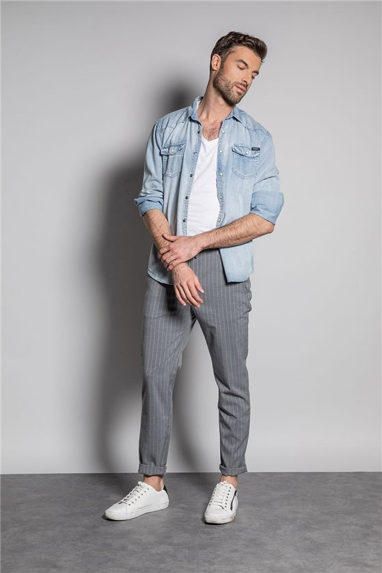 Pantalon PANTALON KINSLEY Homme S207001 (51466) - DEELUXE