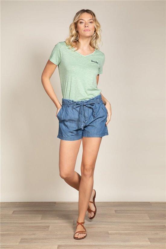T-Shirt T-Shirt PAULINE Femme S20121W (51558) - DEELUXE