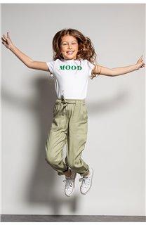T-Shirt MOOD Fille S20136G (51669) - DEELUXE