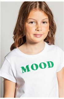 T-Shirt MOOD Fille S20136G (51672) - DEELUXE