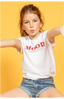 T-Shirt MOOD Fille S20136G (51675) - DEELUXE