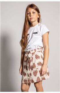 T-Shirt CILIA Fille S20122G (51678) - DEELUXE