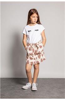 T-Shirt CILIA Fille S20122G (51679) - DEELUXE