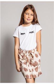 T-Shirt CILIA Fille S20122G (51680) - DEELUXE