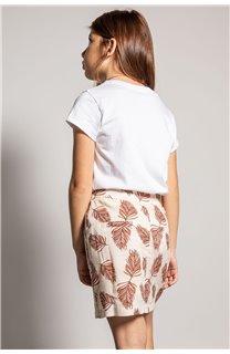 T-Shirt CILIA Fille S20122G (51681) - DEELUXE