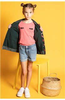 T-Shirt CILIA Fille S20122G (51684) - DEELUXE