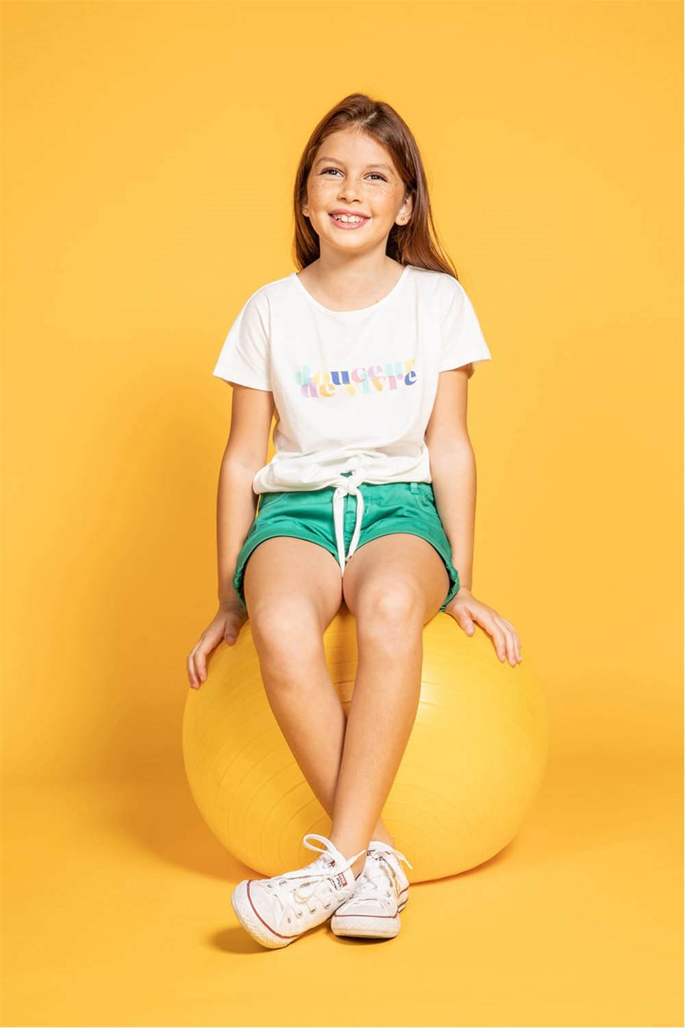 T-Shirt GLADYS Fille S20127G (51693) - DEELUXE
