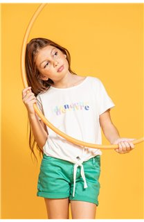 T-Shirt GLADYS Fille S20127G (51695) - DEELUXE