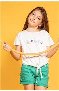 T-Shirt GLADYS Fille S20127G (51697) - DEELUXE