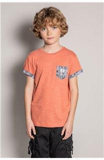 T-Shirt T-Shirt SHAMAR Garçon S20195B (51738) - DEELUXE