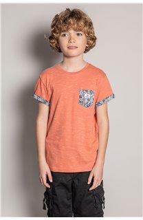 T-Shirt T-Shirt SHAMAR Garçon S20195B (51740) - DEELUXE
