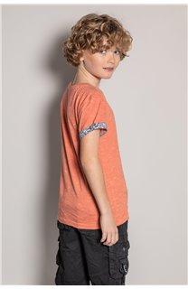 T-Shirt T-Shirt SHAMAR Garçon S20195B (51741) - DEELUXE