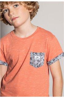 T-Shirt T-Shirt SHAMAR Garçon S20195B (51742) - DEELUXE