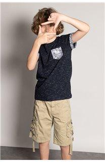 T-Shirt T-Shirt SHAMAR Garçon S20195B (51748) - DEELUXE