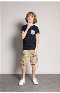 T-Shirt T-Shirt SHAMAR Garçon S20195B (51749) - DEELUXE