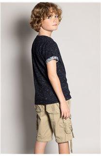 T-Shirt T-Shirt SHAMAR Garçon S20195B (51751) - DEELUXE