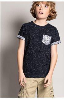 T-Shirt T-Shirt SHAMAR Garçon S20195B (51752) - DEELUXE