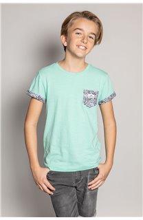 T-Shirt T-Shirt SHAMAR Garçon S20195B (51755) - DEELUXE