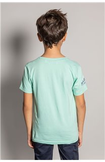 T-Shirt EIGHTISON Garçon S20131B (51762) - DEELUXE