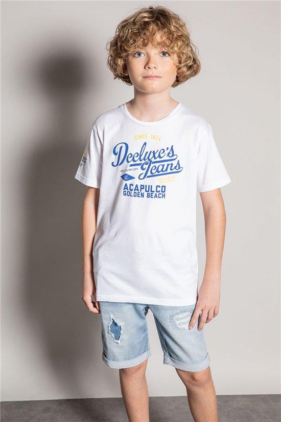 T-Shirt EIGHTISON Garçon S20131B (51759) - DEELUXE