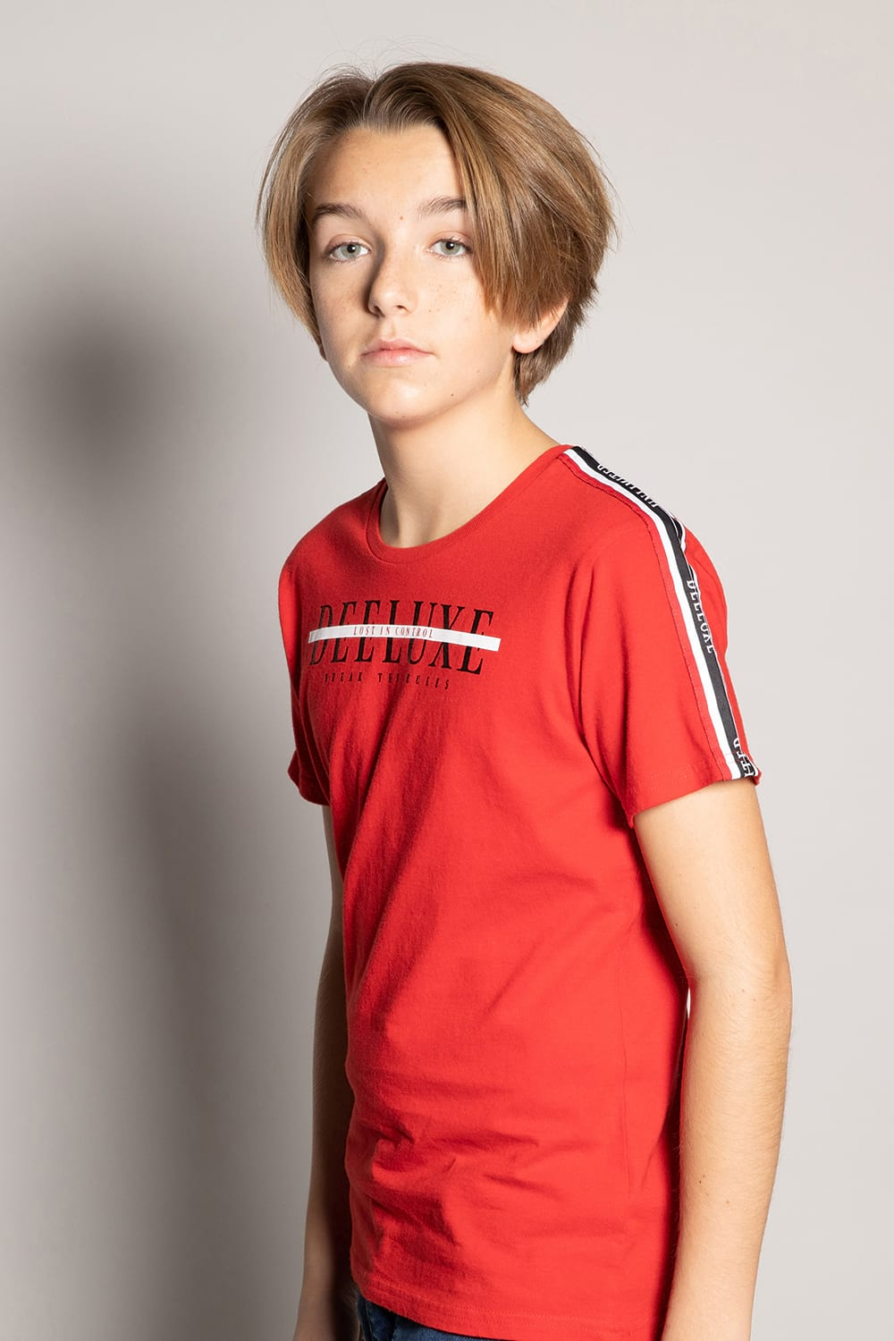T-Shirt RALF - Couleur - Red, Taille - 8