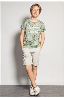 T-Shirt T-Shirt FRESH Garçon S20156B (51789) - DEELUXE