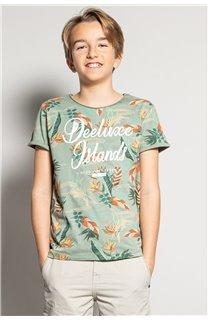 T-Shirt T-Shirt FRESH Garçon S20156B (51790) - DEELUXE